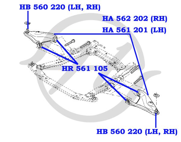 No HANSE: HB 560 220 Опора