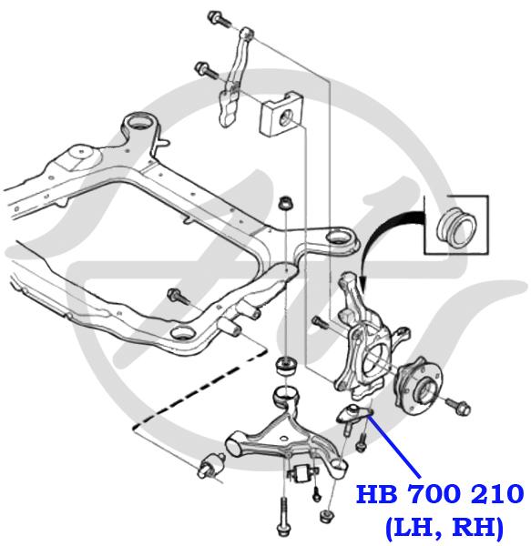 No HANSE: HB 700 210 Опора