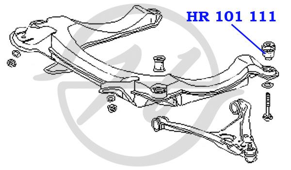 No HANSE: HR 101 111