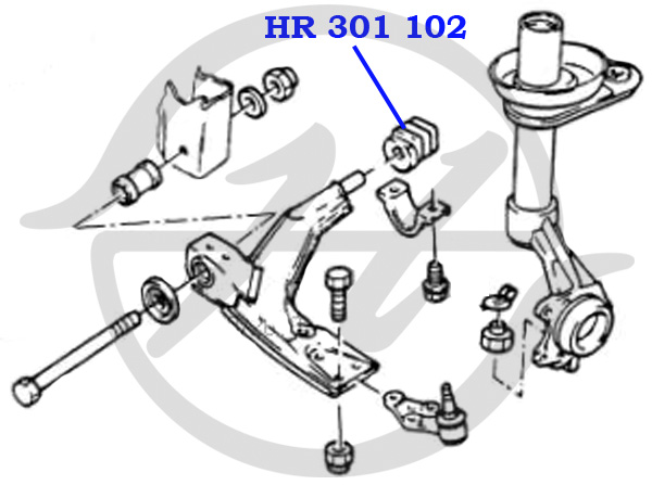 No HANSE: HR 301 102