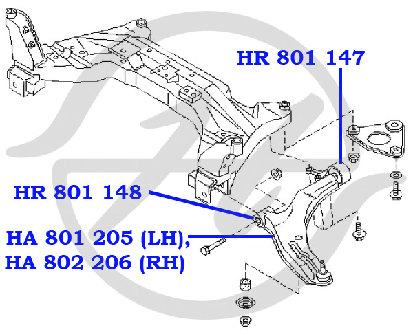 No HANSE: HR 801 147