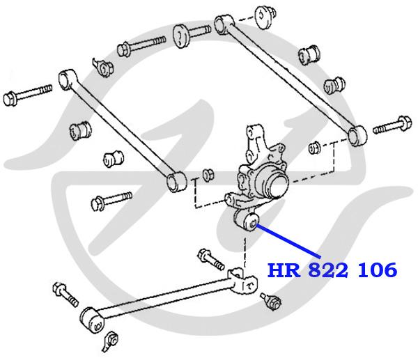 No HANSE: HR 822 106