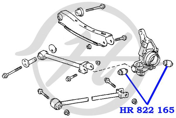 No HANSE: HR 822 165