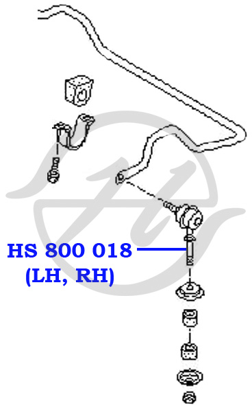 No HANSE: HS 800 018 Тяга